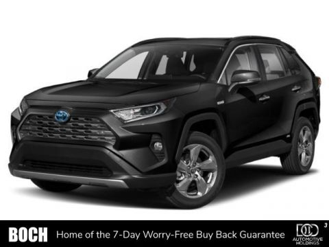 New 2019 Toyota RAV4 Hybrid Hybrid Limited AWD With Navigation & AWD