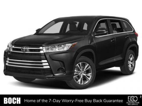 New 2019 Toyota Highlander LE Plus V6 AWD AWD