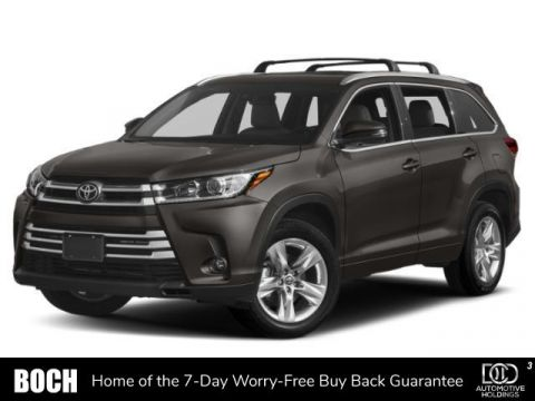 New 2019 Toyota Highlander Limited Platinum V6 AWD With Navigation & AWD