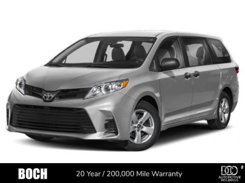 New 2020 Toyota Sienna LE AWD 7-Passenger AWD