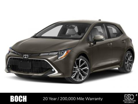 2019 Toyota Corolla Hatchback XSE Manual